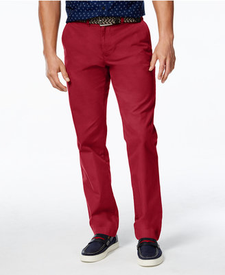 Tommy Hilfiger Men's Custom Fit Chino Pants $59.98 thestylecure.com