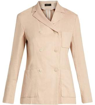 Isabel Marant Nessa Double Breasted Jacket - Womens - Light Pink