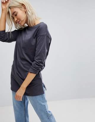 New Look Organic Long Sleeve Tunic Tee