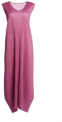 Pleats Please Issey Miyake Monthly Colors May Shift Dress