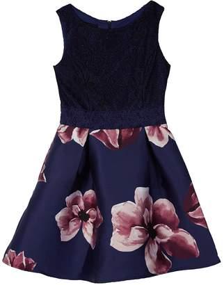 Amy Byer Iz Girls 7-16 IZ Sleeveless Fit & Flare Dress