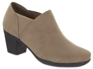 MIA AMORE Kendra Vegan Suede Ankle Boot - Wide Width