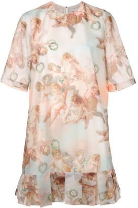 Karen Walker Azure angel print dress