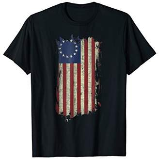 American Flag Vintage USA T-Shirt For Men