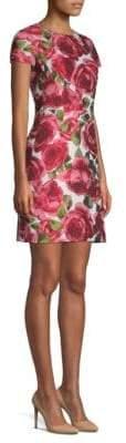 Michael Kors Brocade Shift Dress