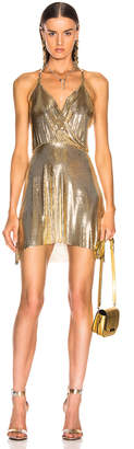 Fannie Schiavoni Clemence Dress in 18K Gold Plated | FWRD