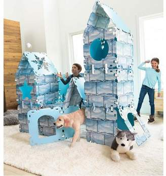 HearthSong Igloo Fantasy Fort For Kids With Cardboard Panels, With 32 Panels