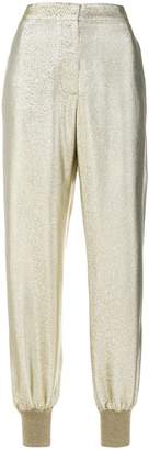 Stella McCartney lurex joggers