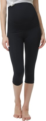 Kimi and Kai Bree Belly Support Maternity Capri Leggings