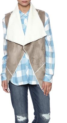 Ellison Faux Fur Vest $68 thestylecure.com