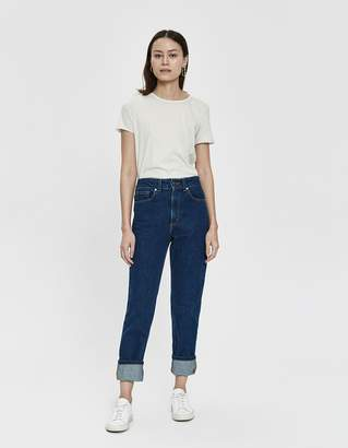 Which We Want Beverly Worn Tee in Latte