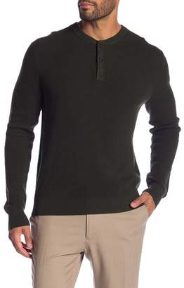 Brooks Brothers Solid Knit Henley
