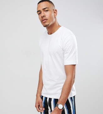Selected Drop Shoulder T-Shirt In Heavy Cotton
