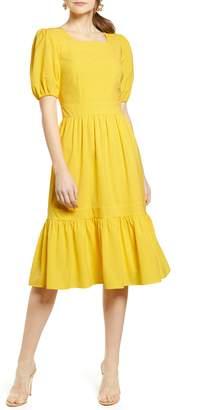 Rachel Parcell Puff Sleeve Dress