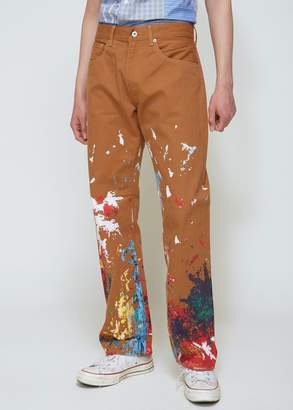 Junya Watanabe Levi's Cotton Duck Print Pant