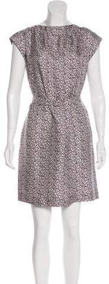 Jennifer Meyer Printed Floral Mini Dress w/ Tags