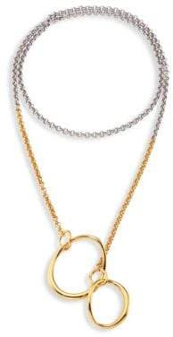 Charlotte Chesnais Symi Two-Tone Pendant Necklace