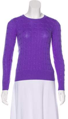 Ralph Lauren Long Sleeve Cashmere Top