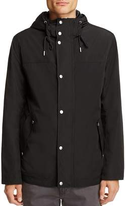 Cole Haan Hooded Rain Jacket $198 thestylecure.com