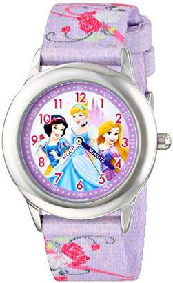 Disney Kids' W001226 Princess Stainless Steel watch