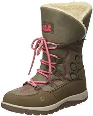 Jack Wolfskin Girls' Rhode Island Texapore High G Slouch Boots,12 UK