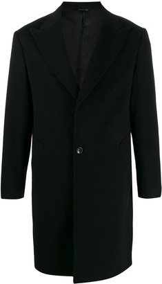 Tonello single-breasted buttoned coat