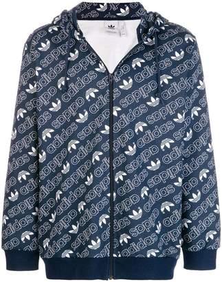 adidas zip front hoodie