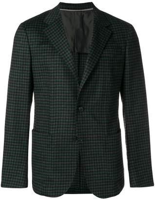 Ermenegildo Zegna tweed pattern blazer