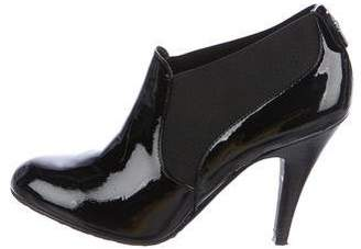 BCBGMAXAZRIA Patent Leather Ankle Boots