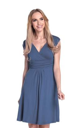 Glamour Empire Women's Sleeveless Circle Skater Flattering Summer Dress 8-20 256 (