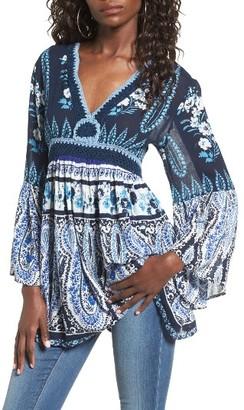 Women's Raga Luisa Bell Sleeve Tunic $97 thestylecure.com