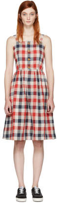 Visvim Red Check Riviera Dress