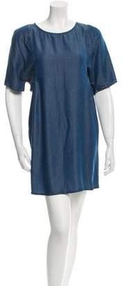 Acne Studios Chambray Mini Dress