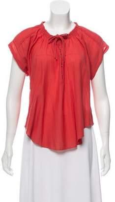 IRO Short Sleeve Oversize Top