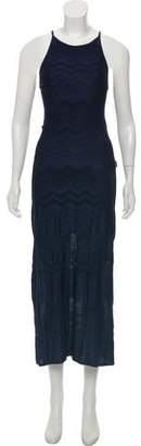 Gianfranco Ferre Sleeveless Maxi Dress