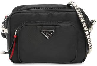 e1af8af18154ed Prada New Vela Nylon Bucket Bag W/ Studs