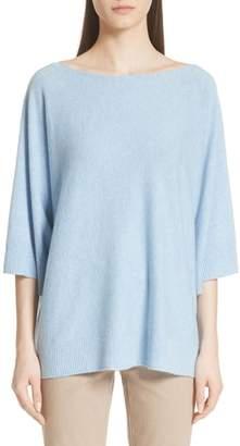 Lafayette 148 New York Cashmere Dolman Sleeve Sweater