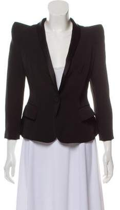 Balmain Structured Shawl Blazer