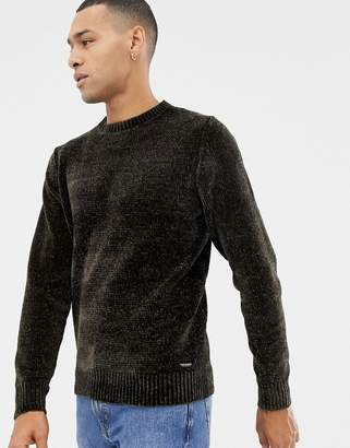 Threadbare Chenille Knitted Jumper