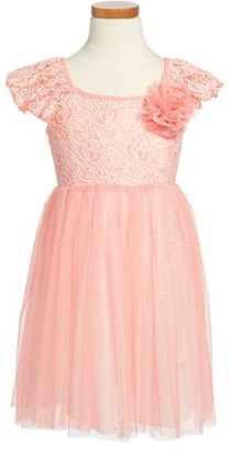 Toddler Girl's Popatu Tulle Skirt Party Dress $34 thestylecure.com