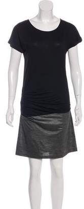 AllSaints Luso Paneled Mini Dress