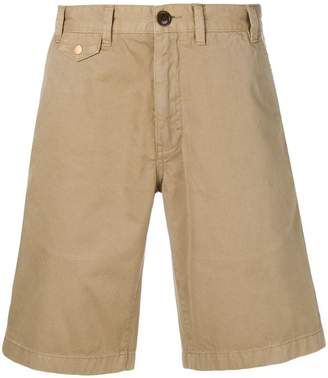 Barbour stone-washed shorts