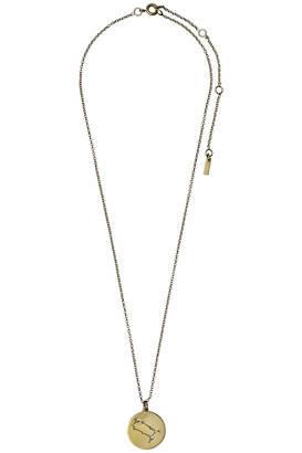 Pilgrim Gemini Gold Star-Sign-Necklace
