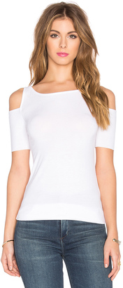Bailey 44 Short Sleeve Deneuve Top $86 thestylecure.com