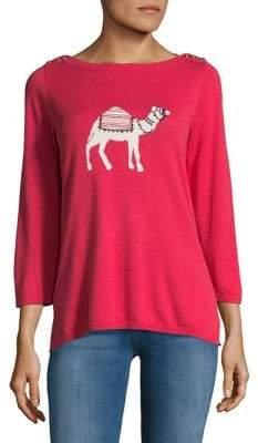 Rafaella Petite Camel Knitted Sweater
