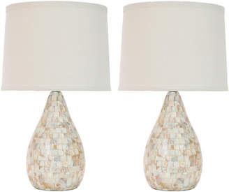 Safavieh Set Of Two 19.25In Lauralie Table Lamps