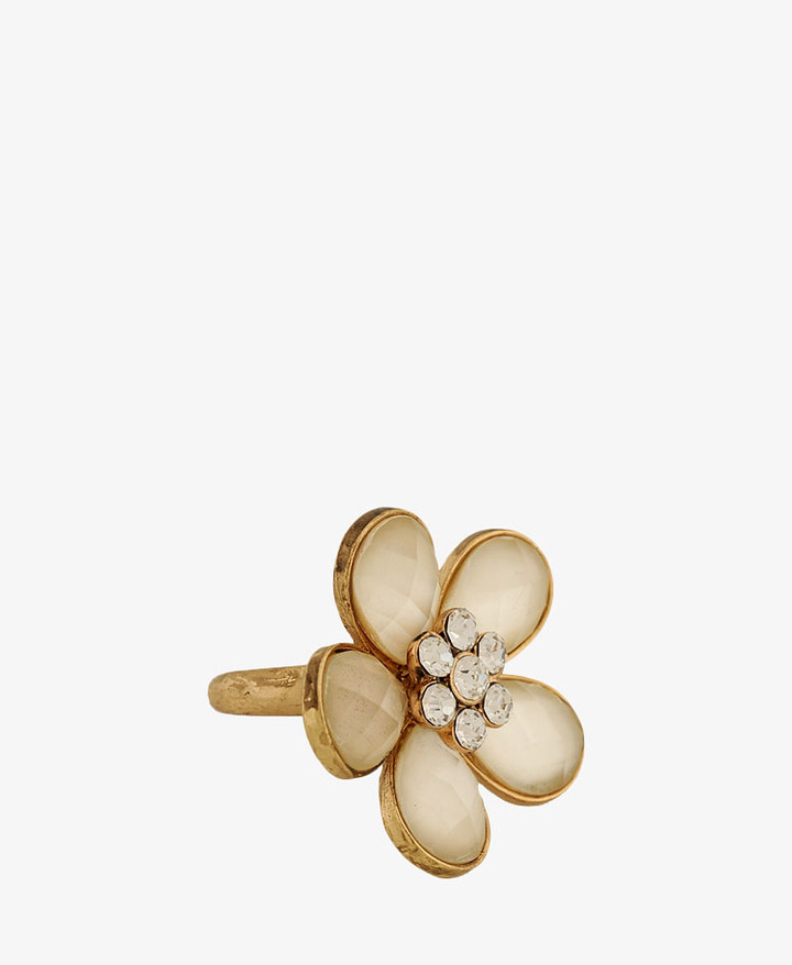 Forever 21 Opaque Flower Ring