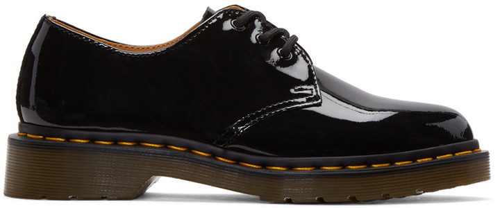 Dr. Martens Dr. Martens Black Patent Three-Eye 1461 Derbys