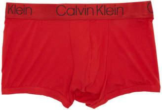 Calvin Klein Underwear Red Micro Boxer Briefs