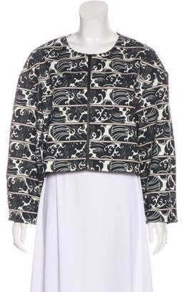 Elizabeth and James Neoprene Printed Jacket